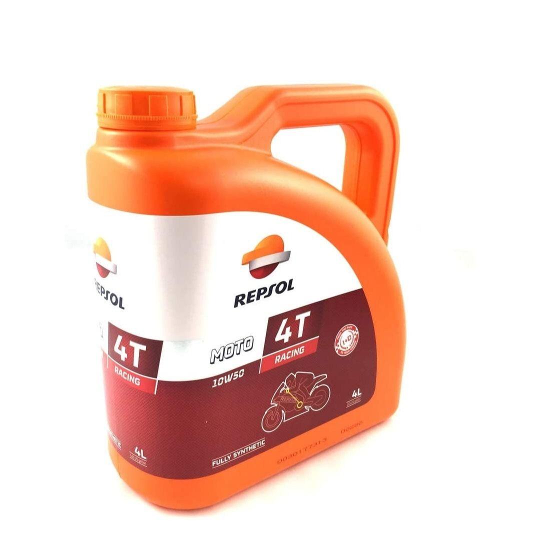 Aceite sintetico 4T Repsol 10w-50 Moto Racing