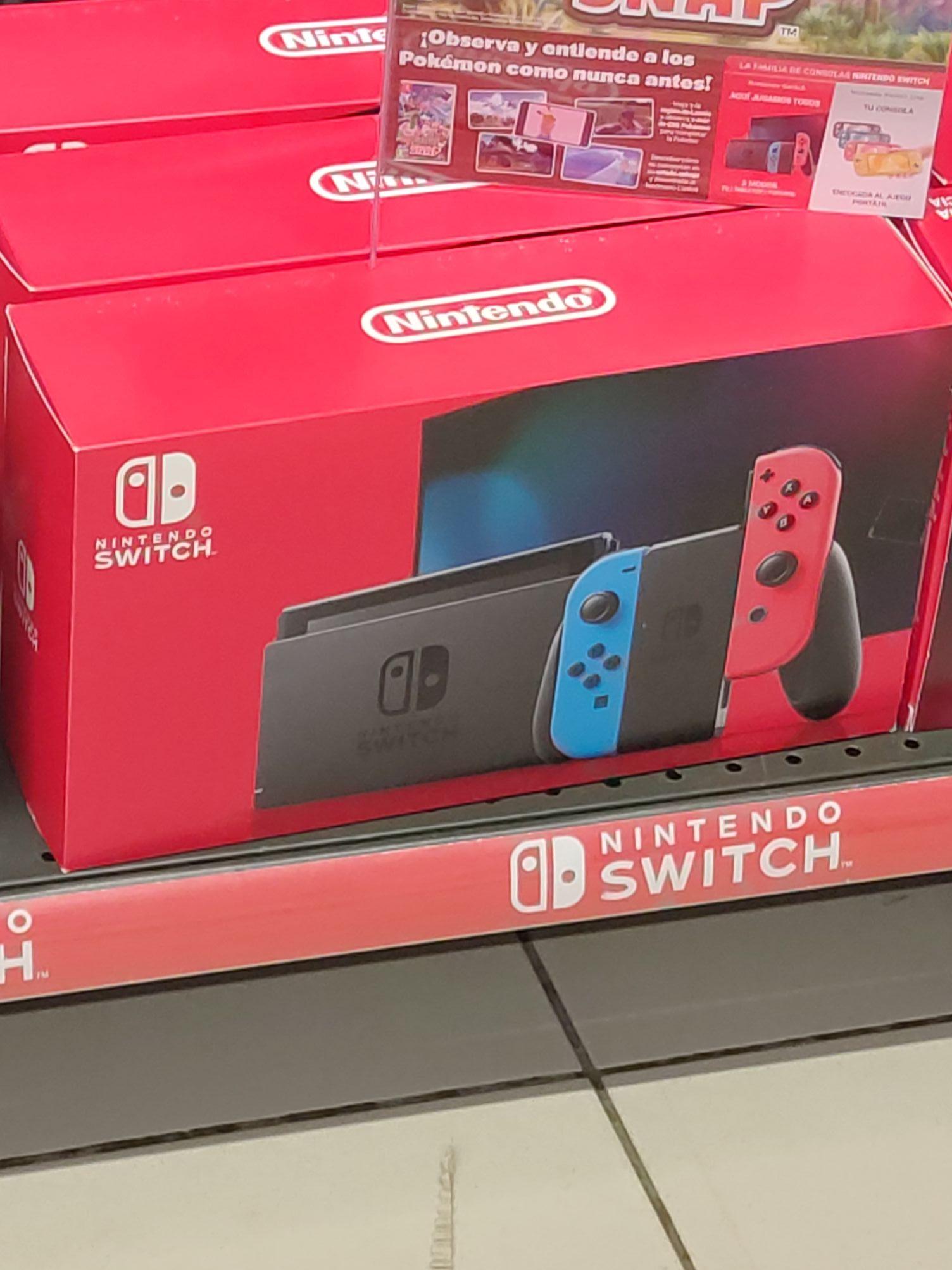 Nintendo switch v2 en CARREFOUR PONTEVEDRA