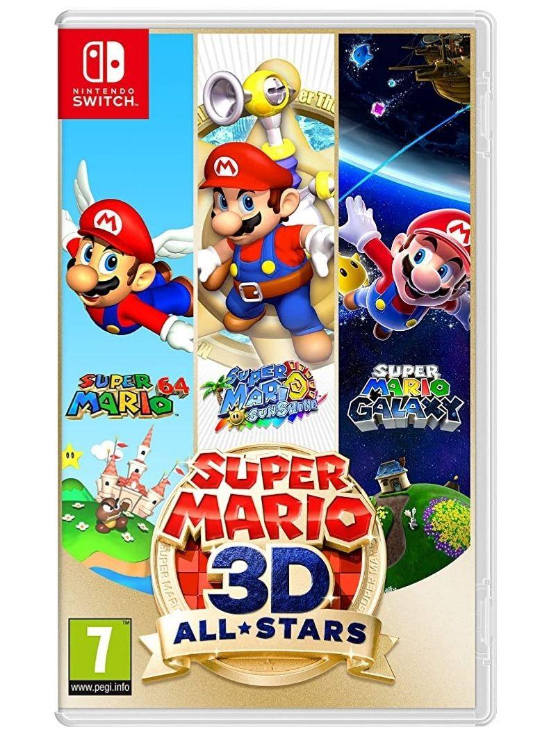 Super Mario 3D All-Stars - Switch (Amazon y Mediamarkt)