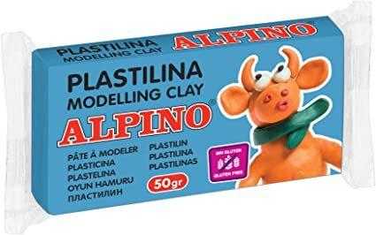 Plastilina alpino 50gr