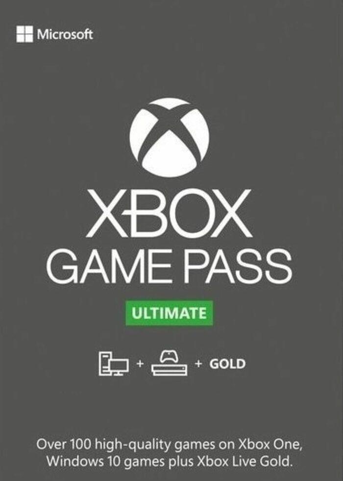 Xbox pass ultimate 7 dias, 33'60 un año
