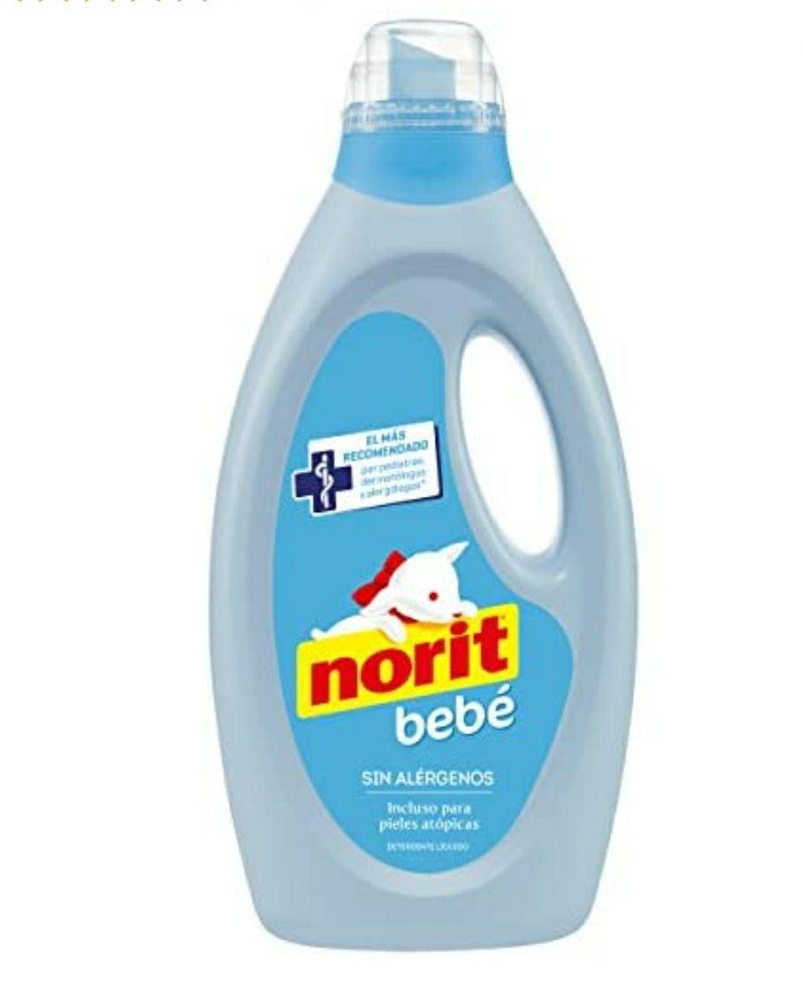 5 uds de detergente de 32 lavados Norit bebé comprando lote de 4 + 1 suelto