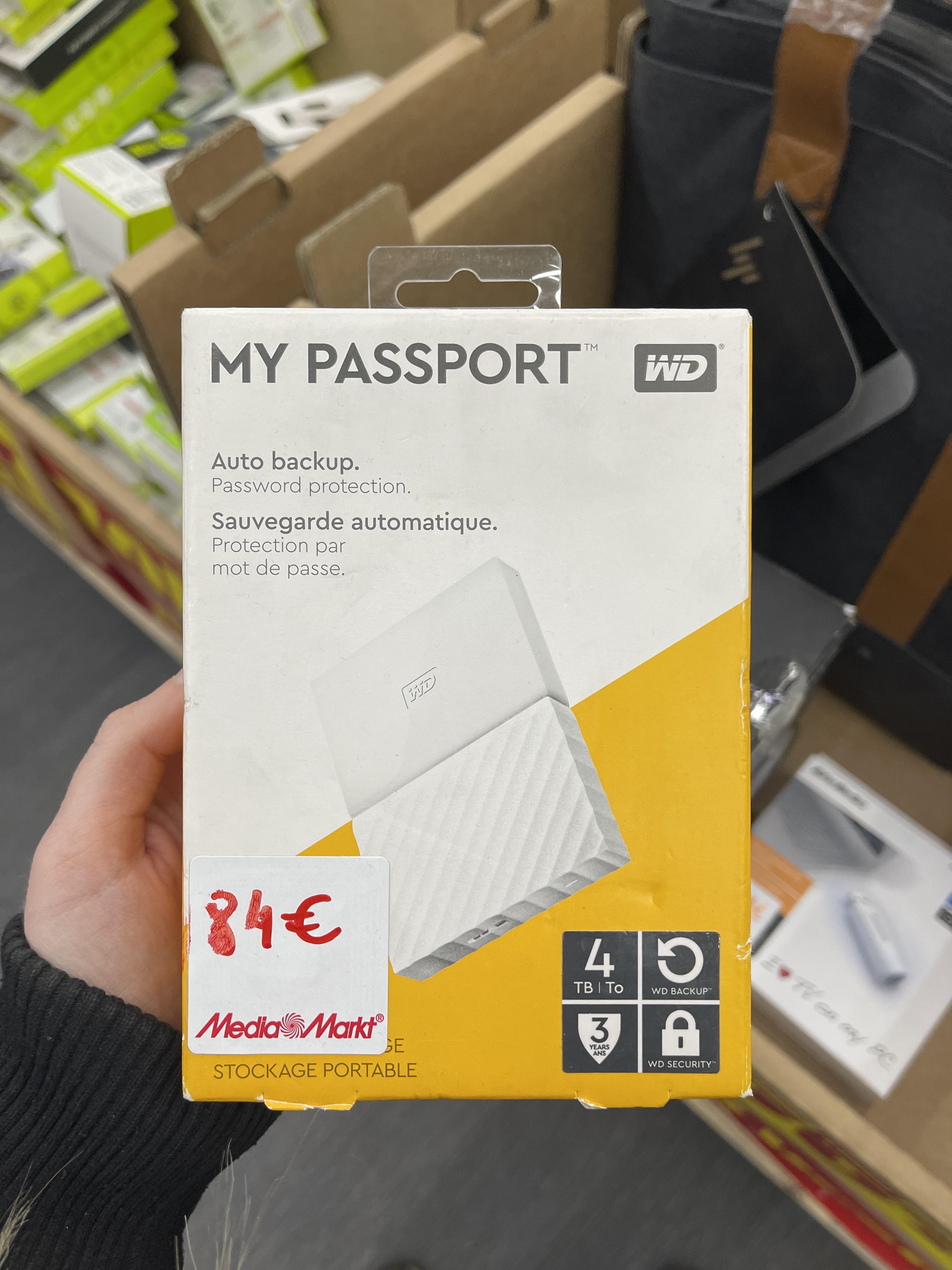 WD My Passport 4TB (Albacete)