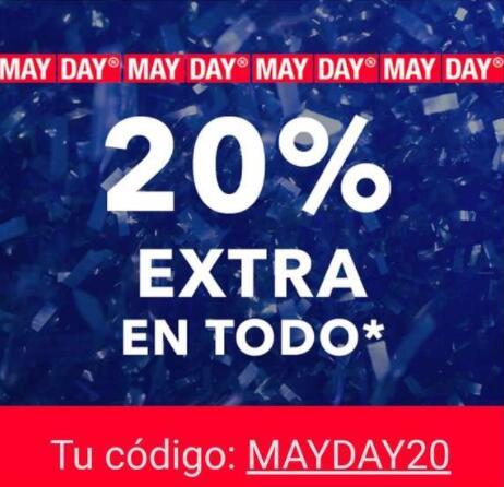 HOY Y MAÑANA 20% EXTRA EN TODO ABOUT YOU