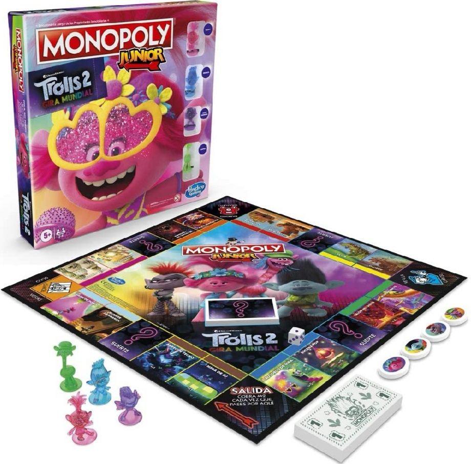 HASBRO - Monopoly Junior Trolls