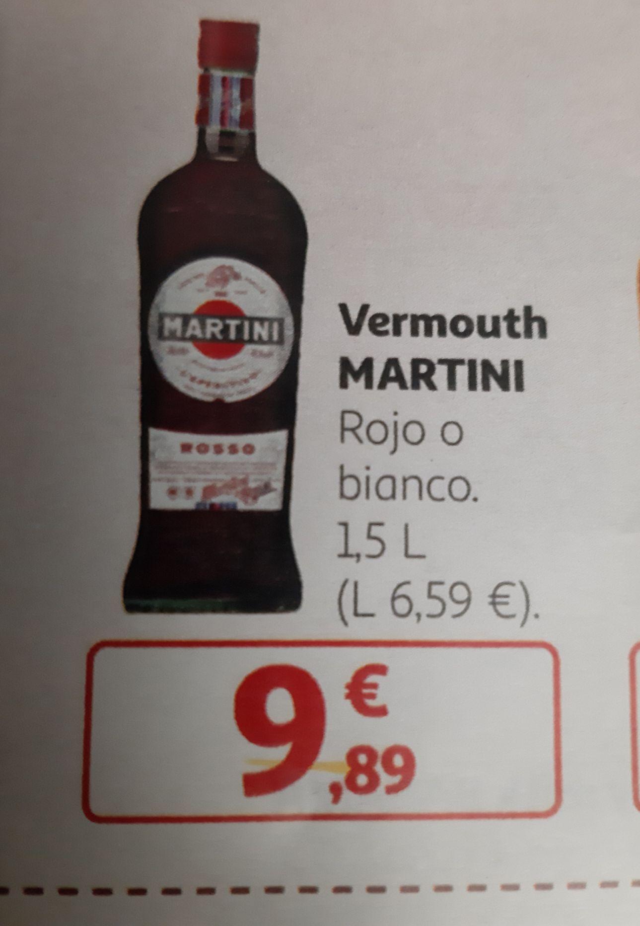 Martini Rojo o Blanco 1,5L en ALCAMPO