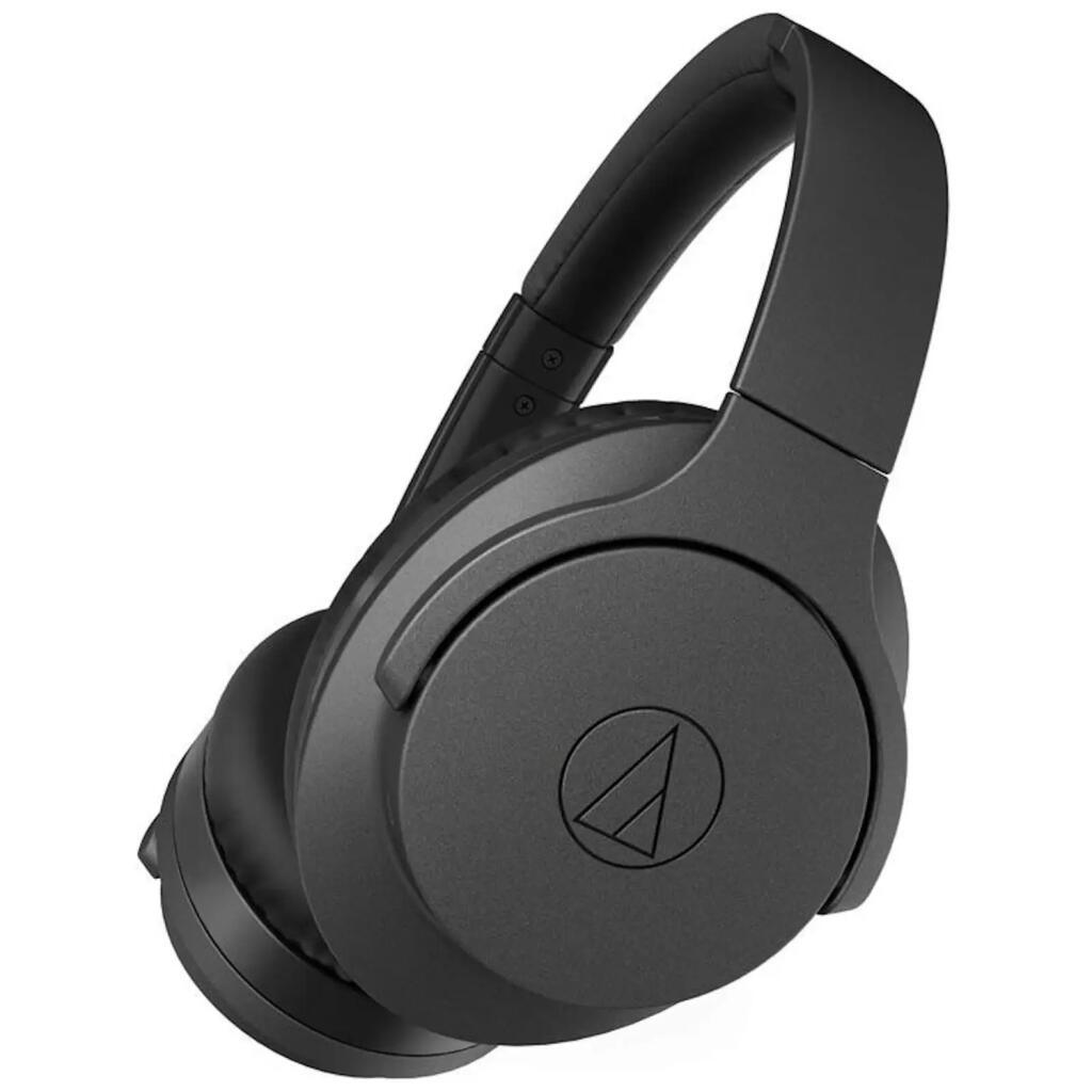 Audio-Technica ATH-ANC700BTBK, Over Auriculares, Bluetooth, 40 mm, Negro