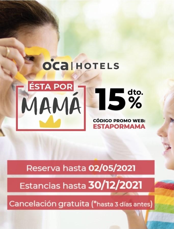 Descuento del 15% en Oca Hotels (situados en Asturias y Galicia)