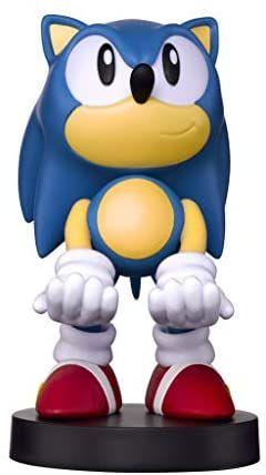 Cable guy Sonic the hedgehog de Sega, soporte de sujeción o carga para mando de consola y/o smartphone