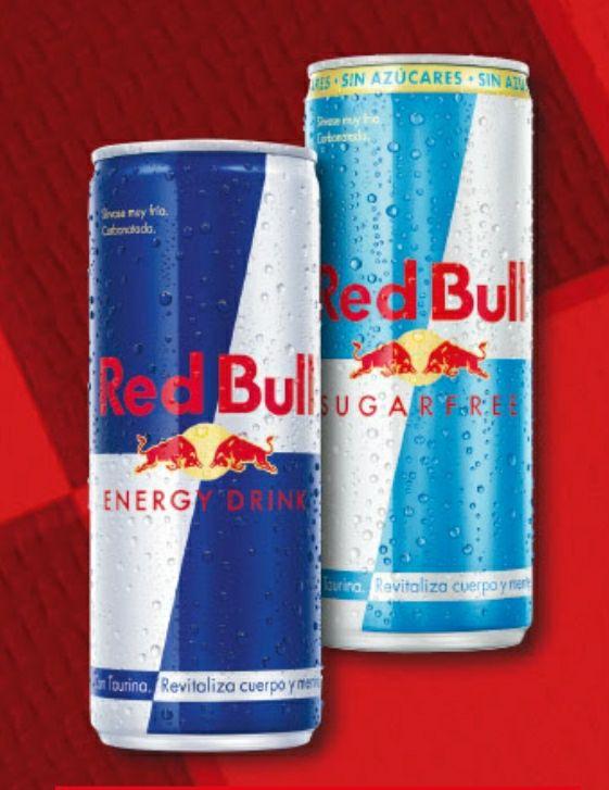 3x2 Red Bull 250ml a menos de 1€ llevando 3. El normal y el sin azúcar