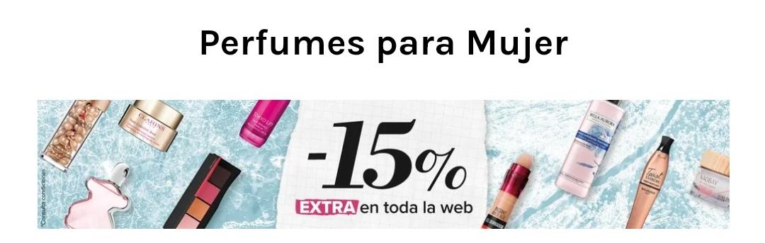 -15 % extra en toda la página web de druni perfumes mujer