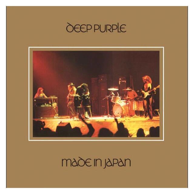 Deep Purple, Made in Japan (CD grabado en vivo)