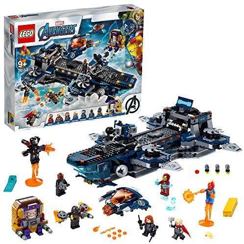 LEGO76153SuperHeroesCLASAvengersHelitransportedelosVengadores (al tramitar)