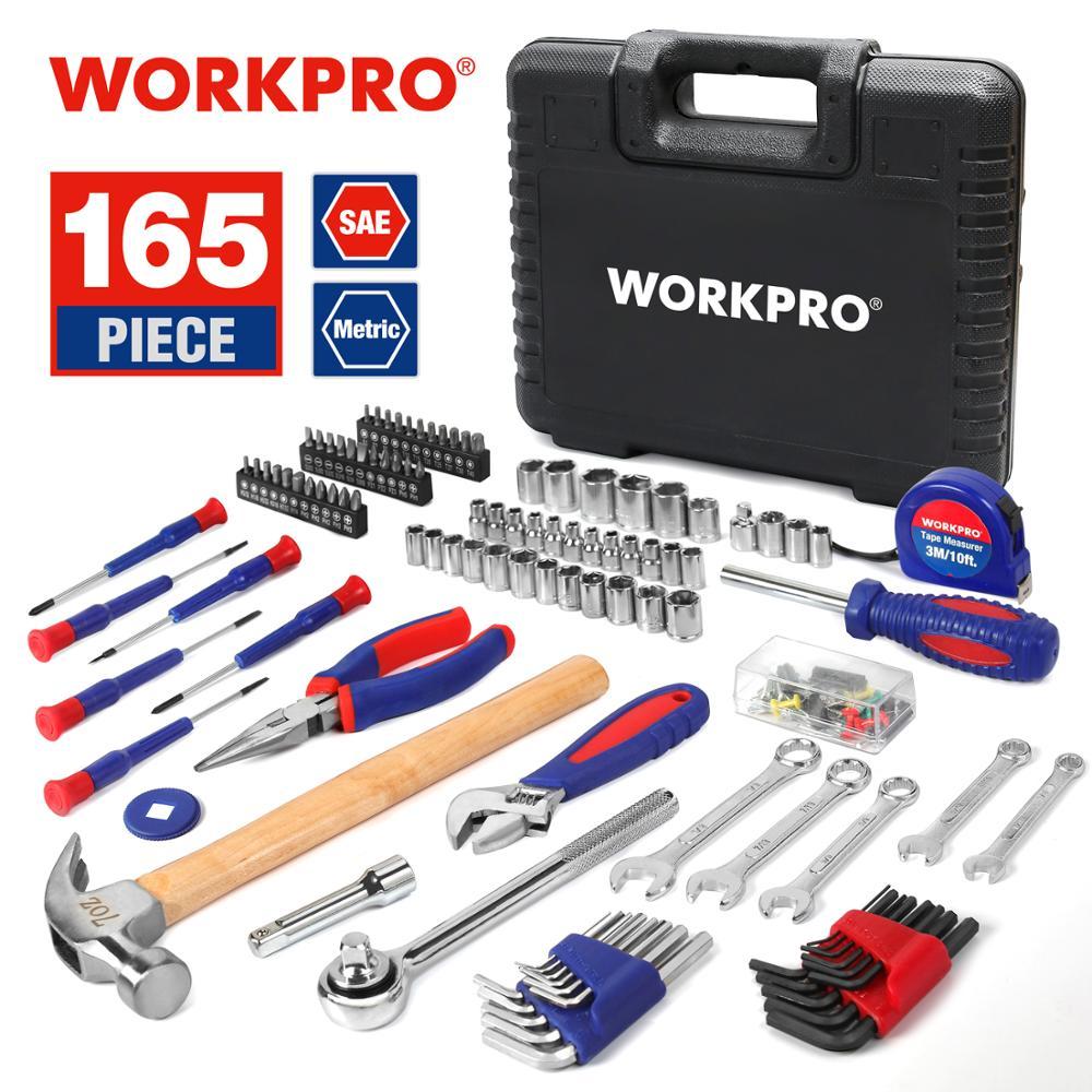 Juego de herramientas WORKPRO 165 piezas 19€ (desde España)