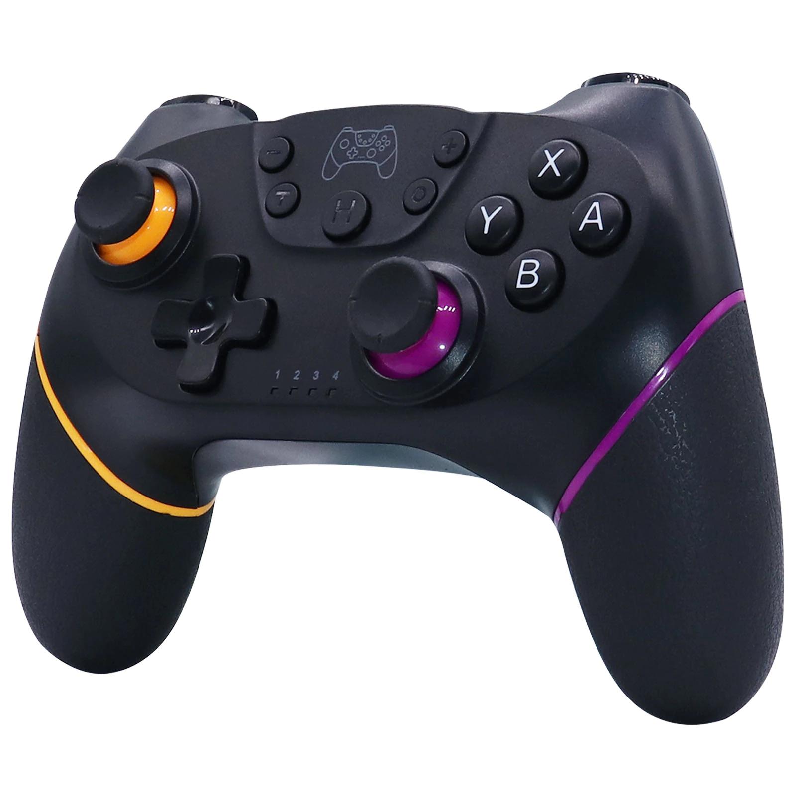 Mando inalámbrico con interruptor de Switch NS, USB, para videojuegos,con palanca de mandos Pro, 5 colores