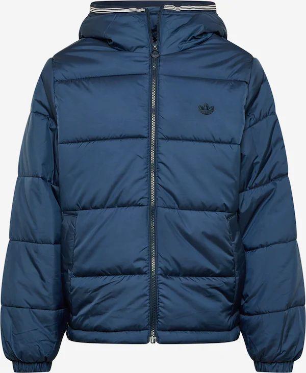 Chaqueta de invierno en Azul. Tallas S, L y XL.