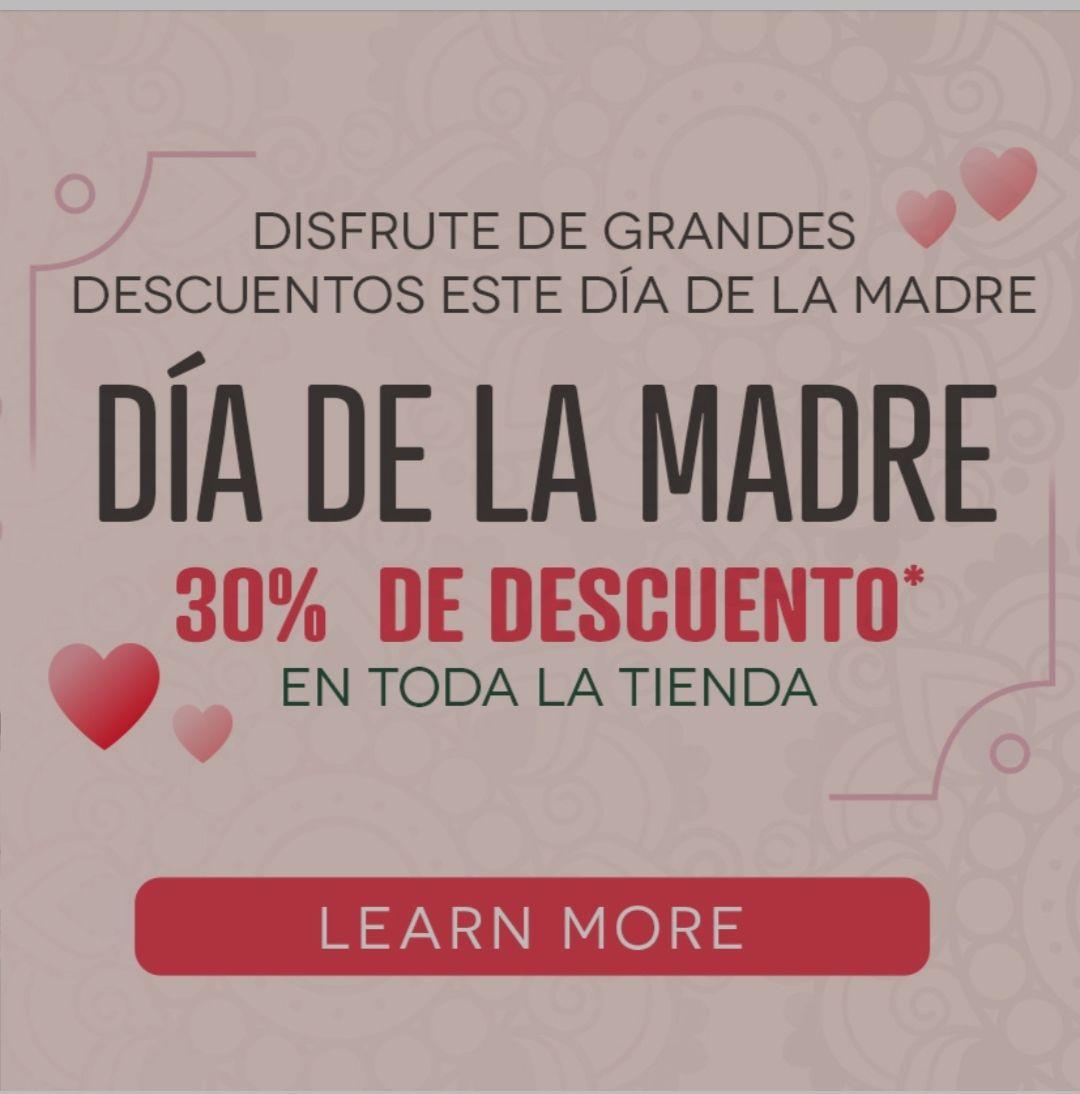 Tienda Creative 30% dto día de la madre
