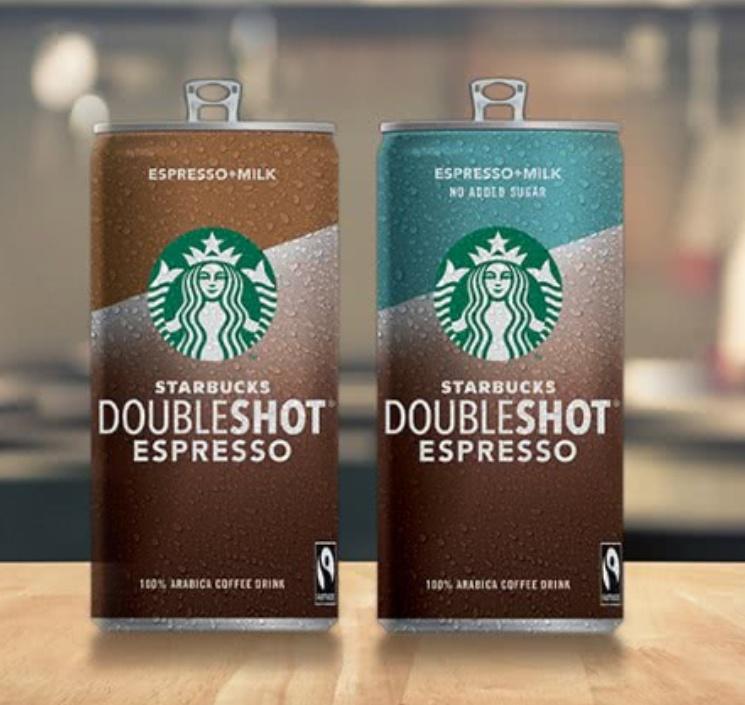 Tester Starbucks doble shot