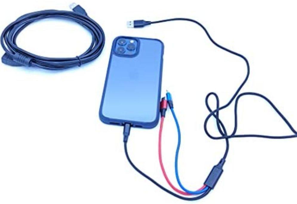 Pack Multicable USB 3 en 1 más alargador USB 3 metros