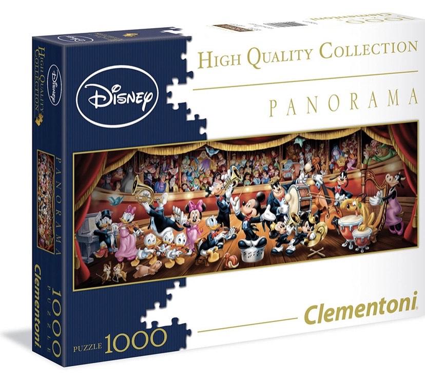 Clementoni - Puzzle Disney Panorama 1000 Piezas Disney Orchestra
