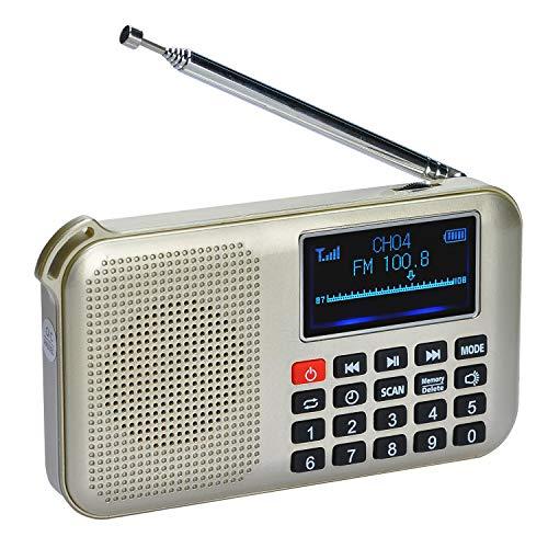 Radio digital con carga solar y mas