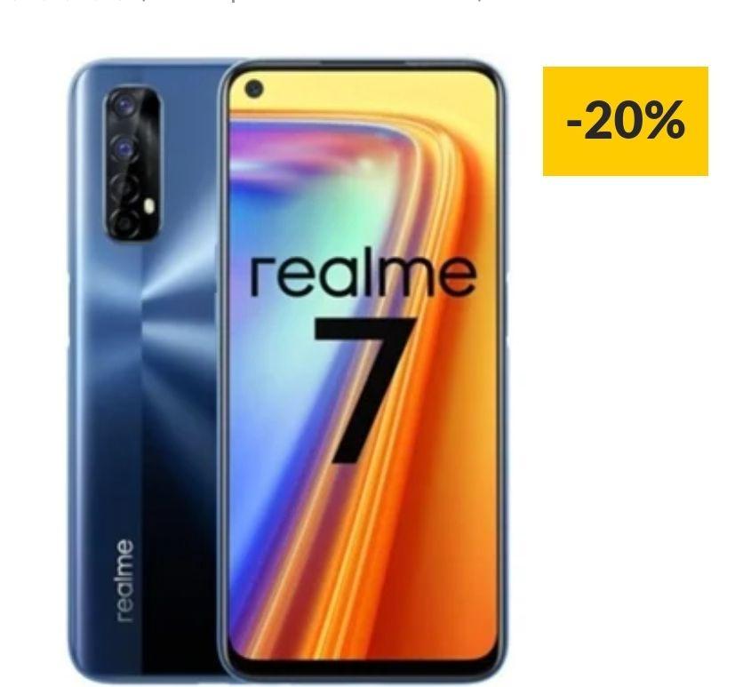 Realme 7 8gb ram 64 memoria