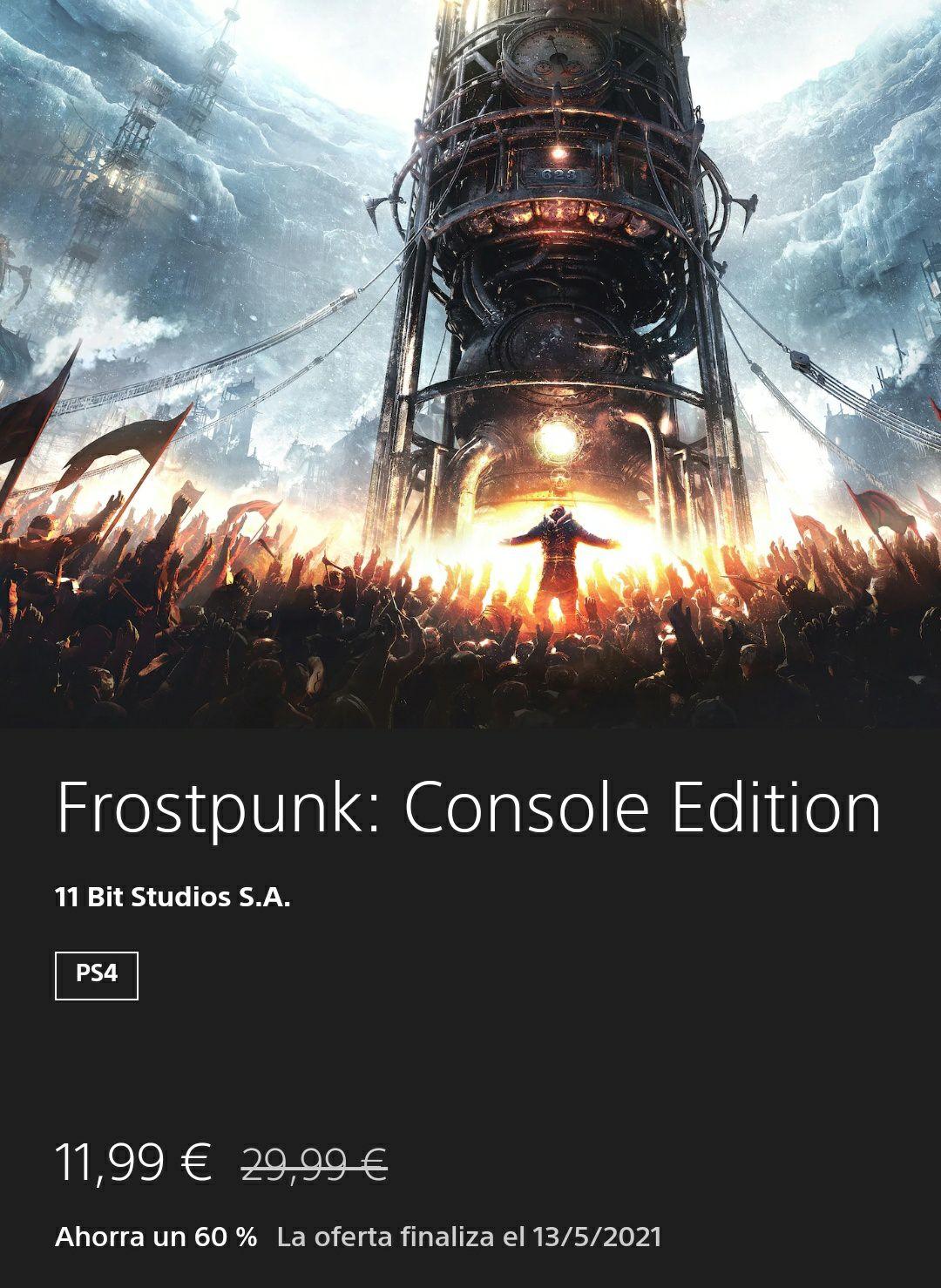 Frostpunk: console edition