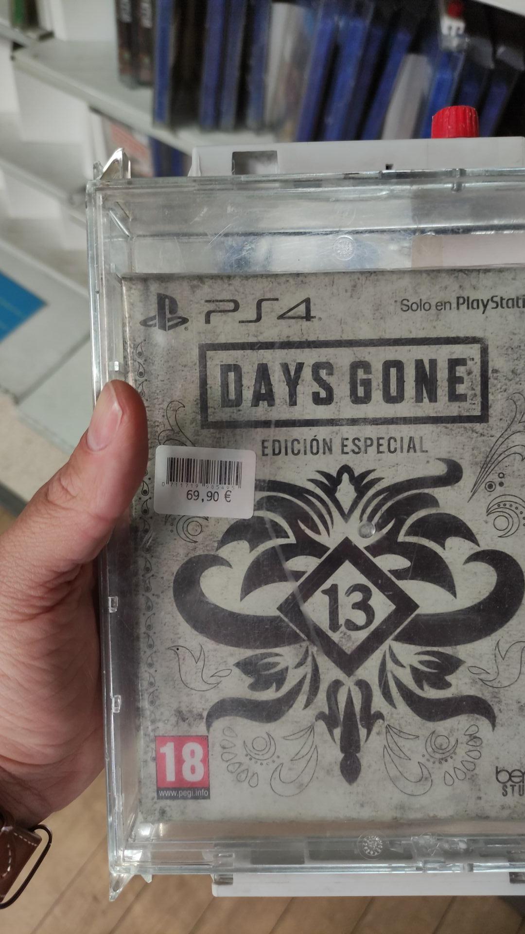 Days gone Ed especial para PS4 Carrefour Rosaleda
