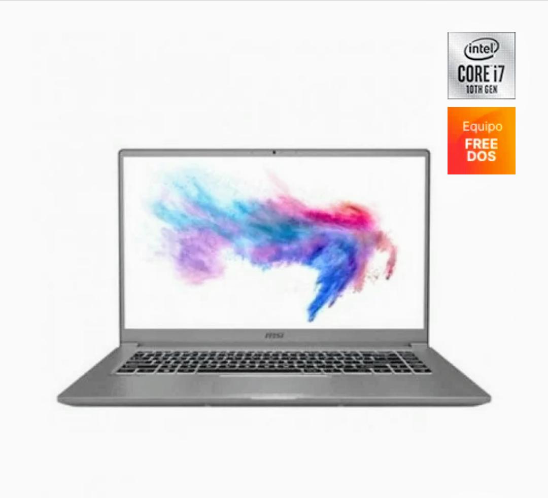 "MSI Modern 15 A10M-486XES Intel Core I7-10510U/16GB/512GB SSD/15.6"""
