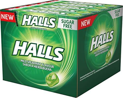 Halls Menta Suave - Caramelo duro - Caja con 20 Sticks de 32 g