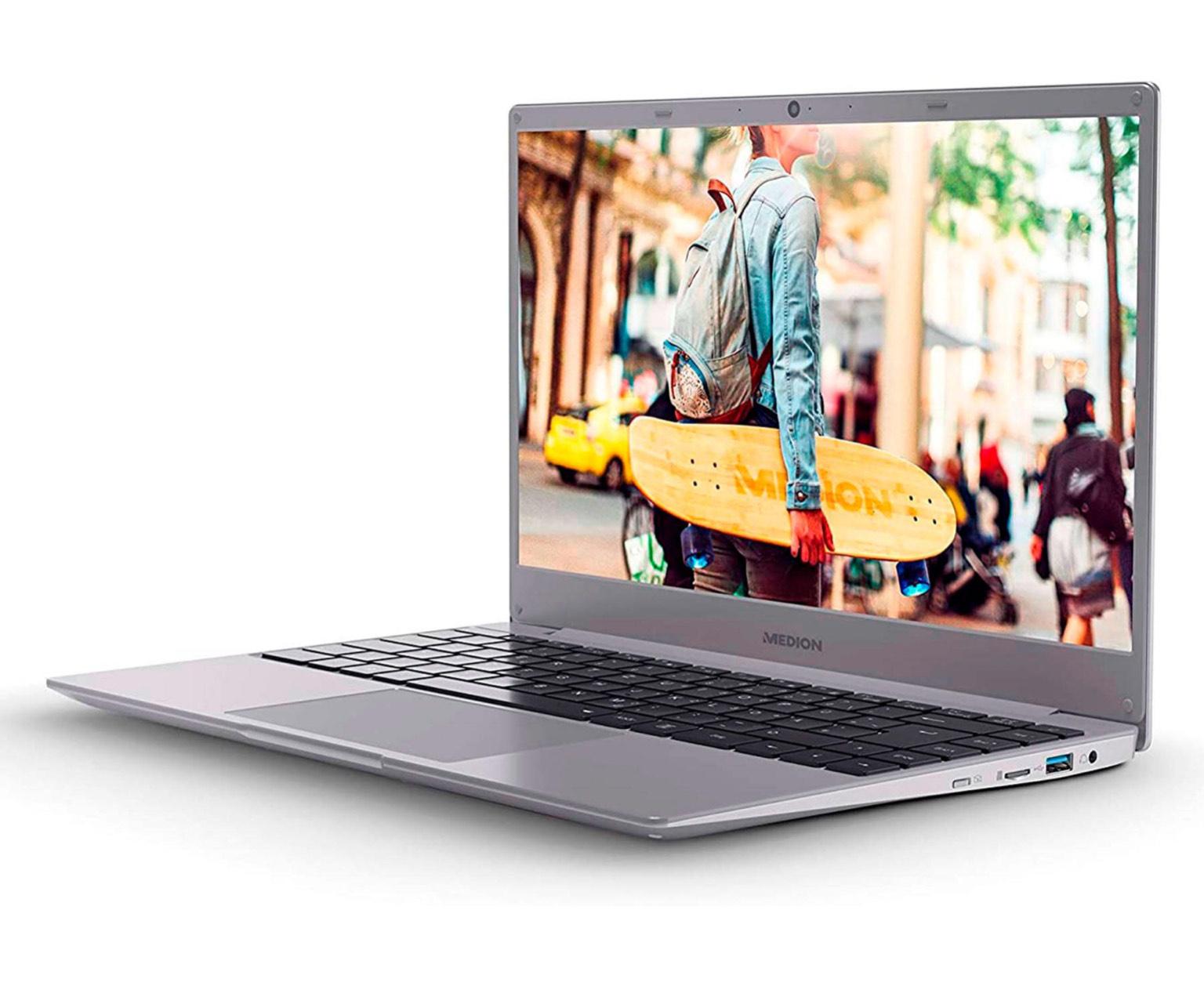 MEDION AKOYA E15301 PORTÁTIL 15.6'' FullHD IPS RYZEN 3 3200U 256GB SSD 8GB RAM HDMI USB FREEDOS
