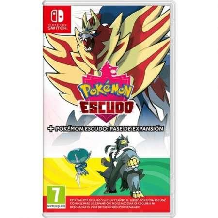 Pokemon Escudo + Pase de Expansión (Raro)