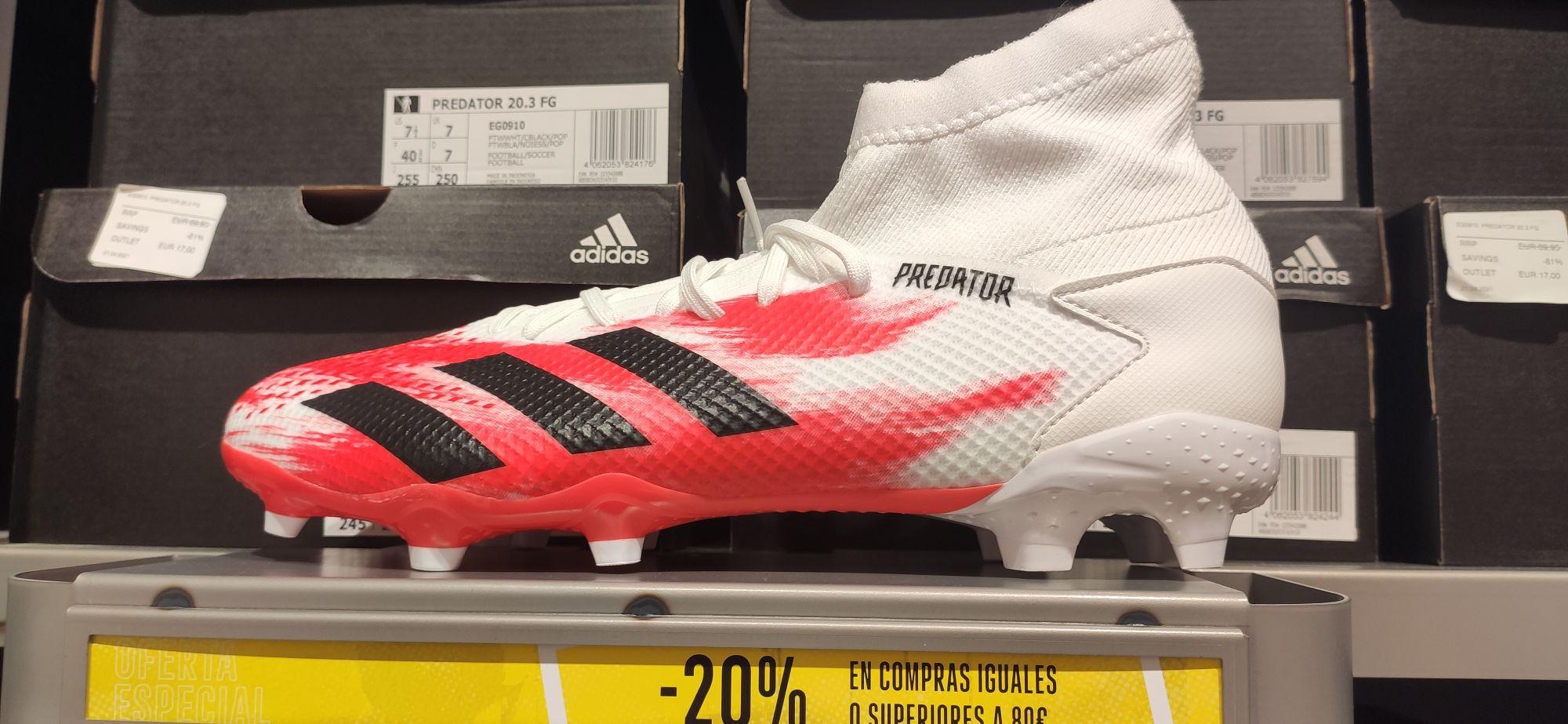 Adidas Predator 20.3 FG en la tienda de Adidas de La Torre Outlet