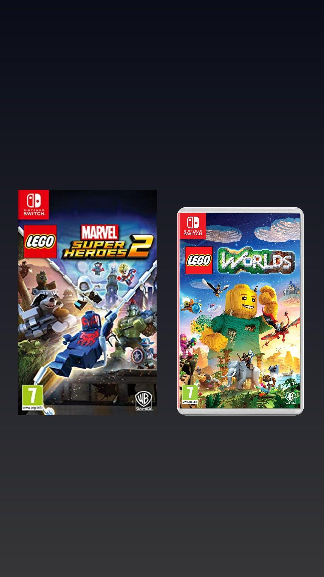 LEGO MARVEL SUPER HEROES 2 (NS) + LEGO WORLDS (NS)