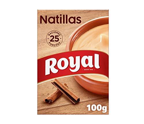 3 packs de Royal Natillas Caseras Receta Tradicional 25 raciones