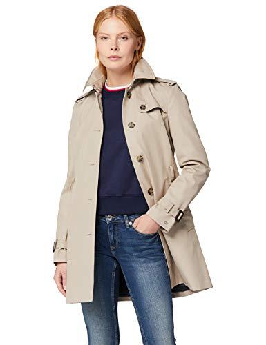 Tommy Hilfiger Heritage Single Breasted Trench Abrigo para Mujer (Varias Tallas S-M-L-XL)