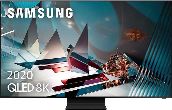 TV QLED 8K Samsung QE82Q800T - Full Array Premium, Smart TV IA, HDR2000, OTS+, Procesador 8K