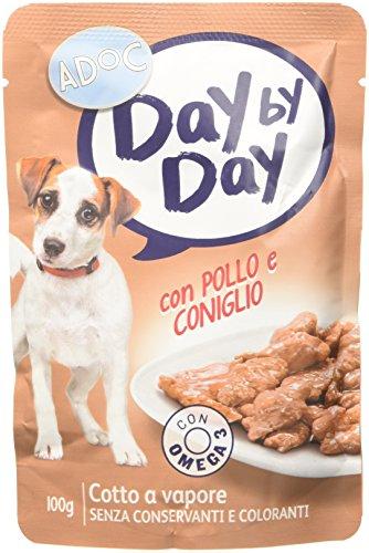 ADOC Day by Day Pollo y Conejo perros, 24 x 100g