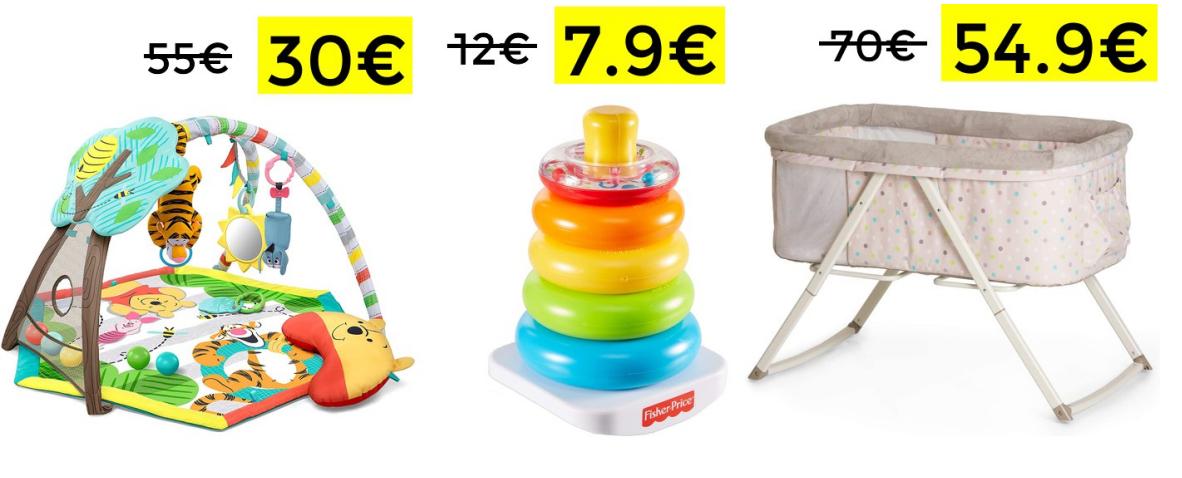 Ofertas TOP en una selección de productos para bebé