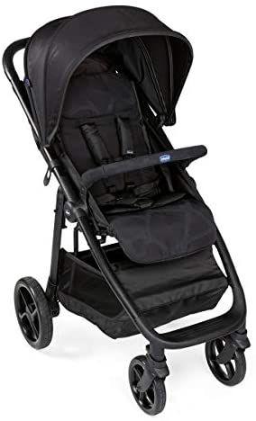 Chicco MultiRide - Silla de paseo todoterreno con ruedas grandes y suspensión, hasta niños 22 kg