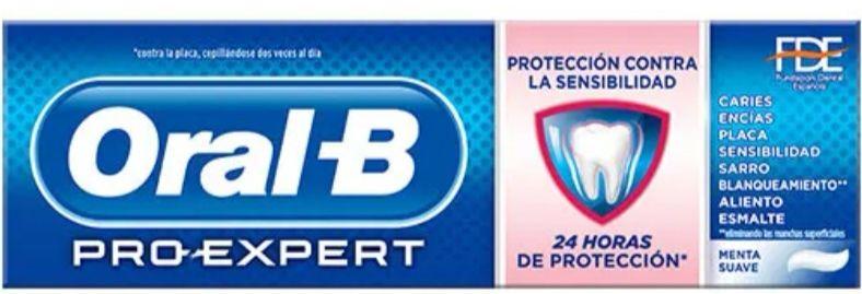 Oral-B Pro-Expert Pasta de Dientes Sensibilidad + Blanqueante 75 ml