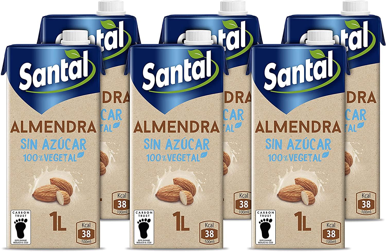 6x Bebida almendra sin azucar solo 5.7€