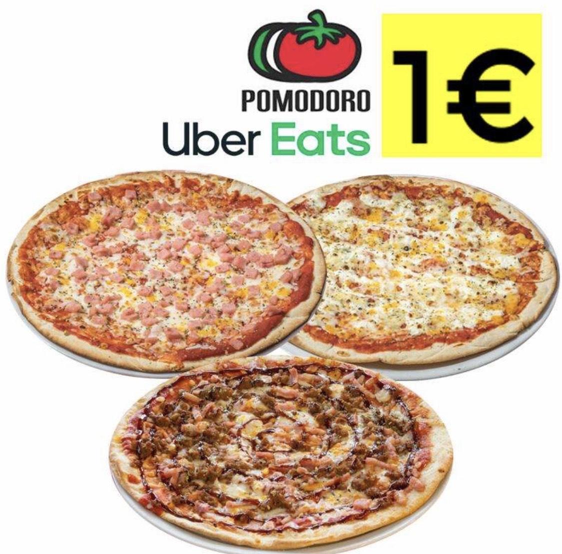 Pizzas Pomodoro A 1€