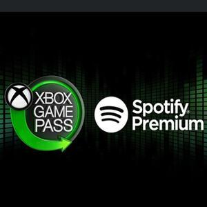 4 Meses de Spotify Premium [Xbox Game Pass]