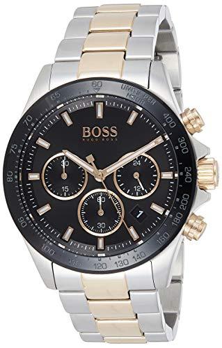 Hugo BOSS Reloj Cronógrafo para Hombre de Cuarzo con Correa en Acero Inoxidable 1513757