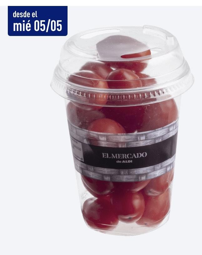 Tomates cherry en Aldi 250 g