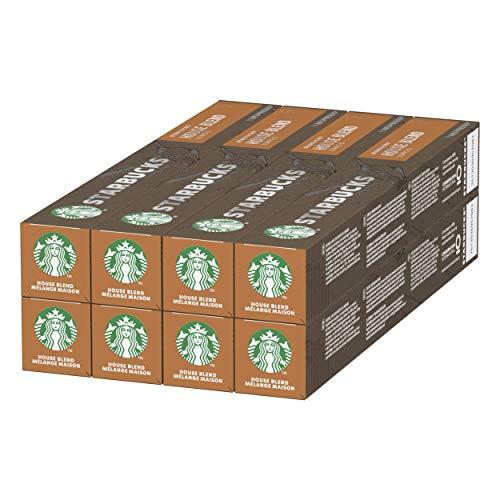 80 cápsulas starbucks (Colombia, house blend,...) para nespresso