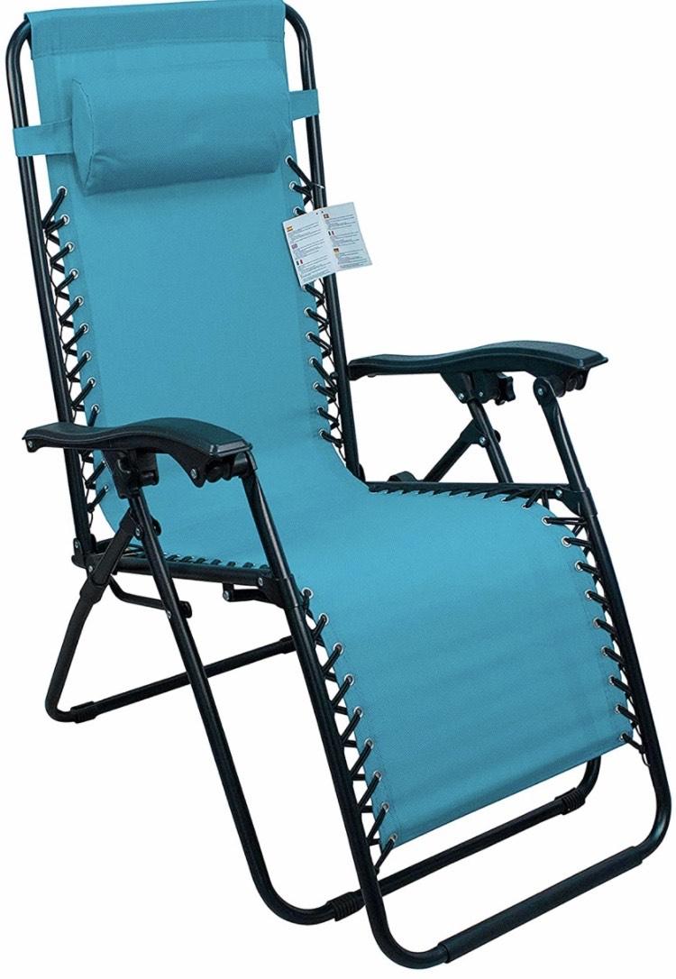 Tumbona plegable multiposiciones + silla plegable