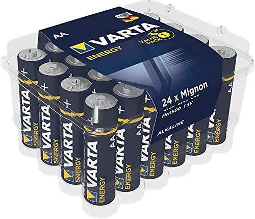 Pila alcalina Varta paquete de 24 unidades