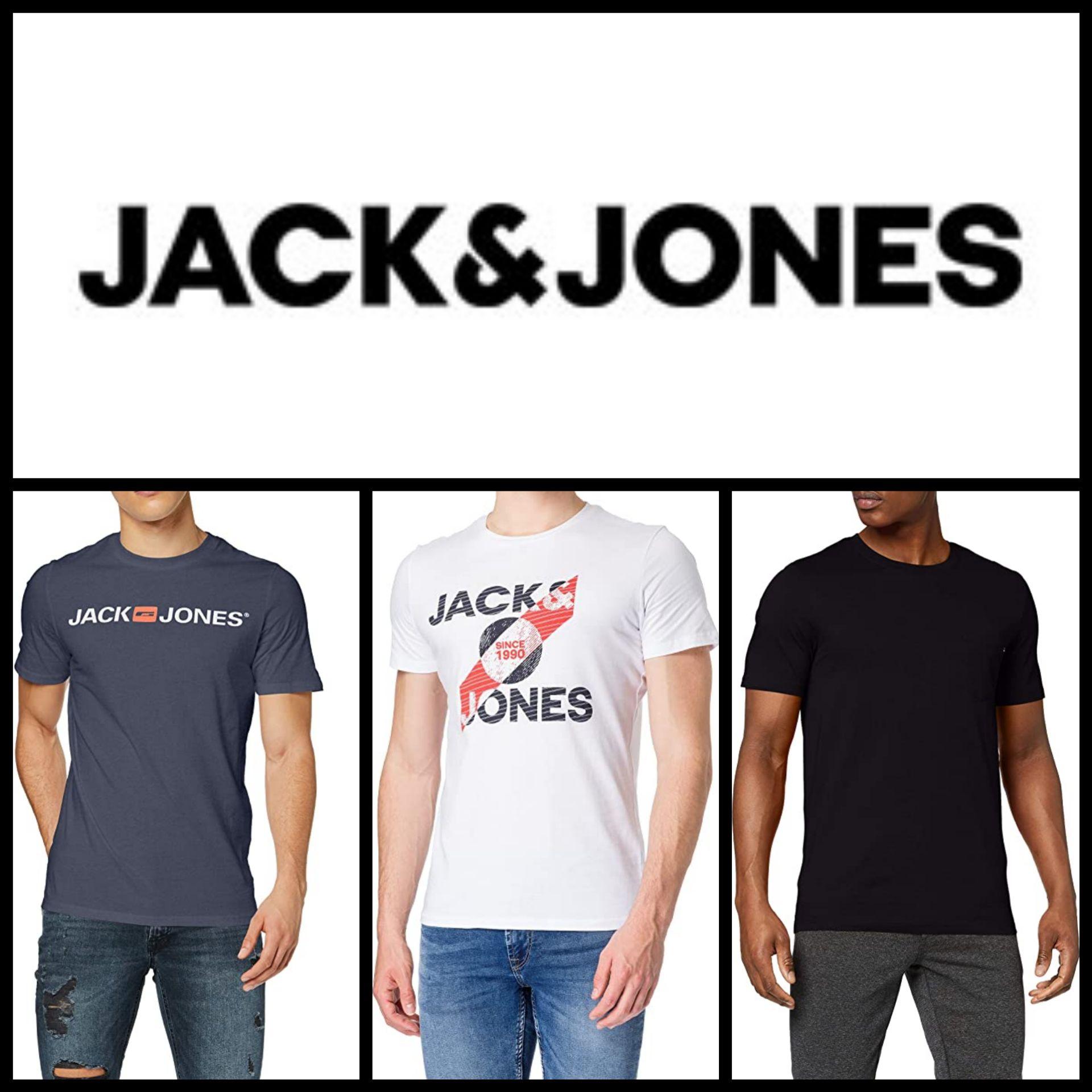 Recopilación Camisetas Jack&Jones por menos de 8€